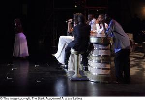 Primary view of object titled '[Musical sequence in Aretha: The Musical]'.