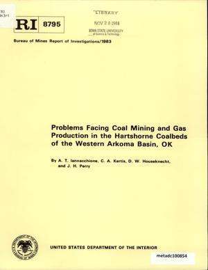 Primary view of object titled 'Problems Facing Coal Mining and Gas Production in the Hartshorne Coalbeds of the Western Arkoma Basin, Oklahoma'.
