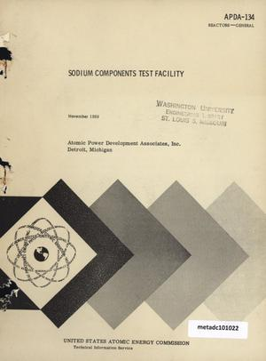 Primary view of object titled 'Sodium Components Test Facility'.