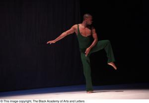 Primary view of object titled '[Dancer in green]'.