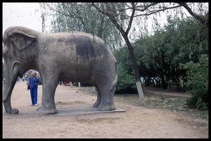 Primary view of object titled '[Stone Elephant]'.