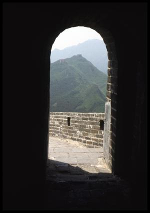 Primary view of object titled '[The Great Wall of China]'.