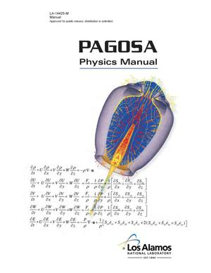 Primary view of object titled 'PAGOSA physics manual'.