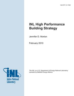 Primary view of object titled 'INL High Performance Building Strategy'.
