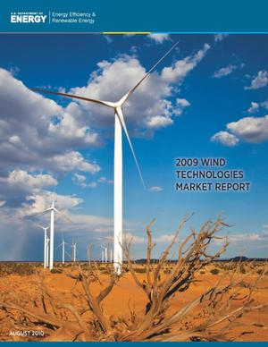 Primary view of object titled '2009 Wind Technologies Market Report'.