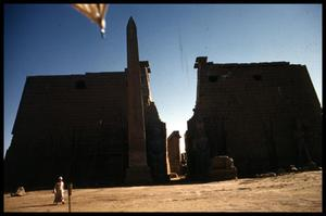 Primary view of object titled '[Luxor Temple Entrance]'.