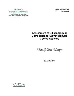 Primary view of object titled 'Assessment of Silicon Carbide Composites for Advanced Salt-Cooled Reactors'.