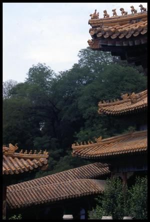 Primary view of object titled '[Summer Palace Roofs]'.