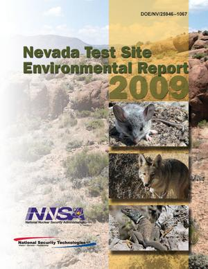 Primary view of object titled 'Nevada Test Site Environmental Report: 2009'.