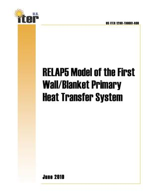 Primary view of object titled 'RELAP5 Model of the First Wall/Blanket Primary Heat Transfer System'.
