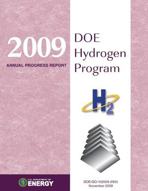 Primary view of object titled '2009 Annual Progress Report: DOE Hydrogen Program, November 2009 (Book)'.
