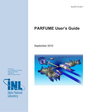 Primary view of object titled 'PARFUME User's Guide'.