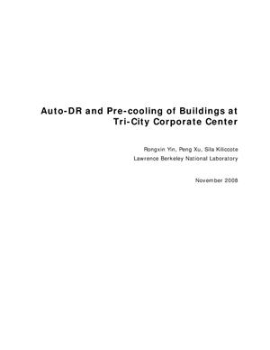 Primary view of object titled 'Auto-DR and Pre-cooling of Buildings at Tri-City Corporate Center'.