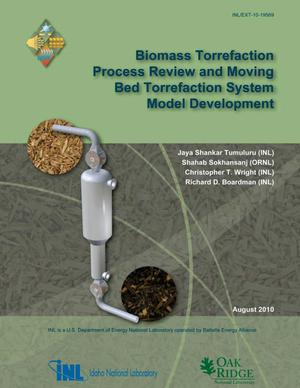Primary view of object titled 'Biomass Torrefaction Process Review and Moving Bed Torrefaction System Model Development'.