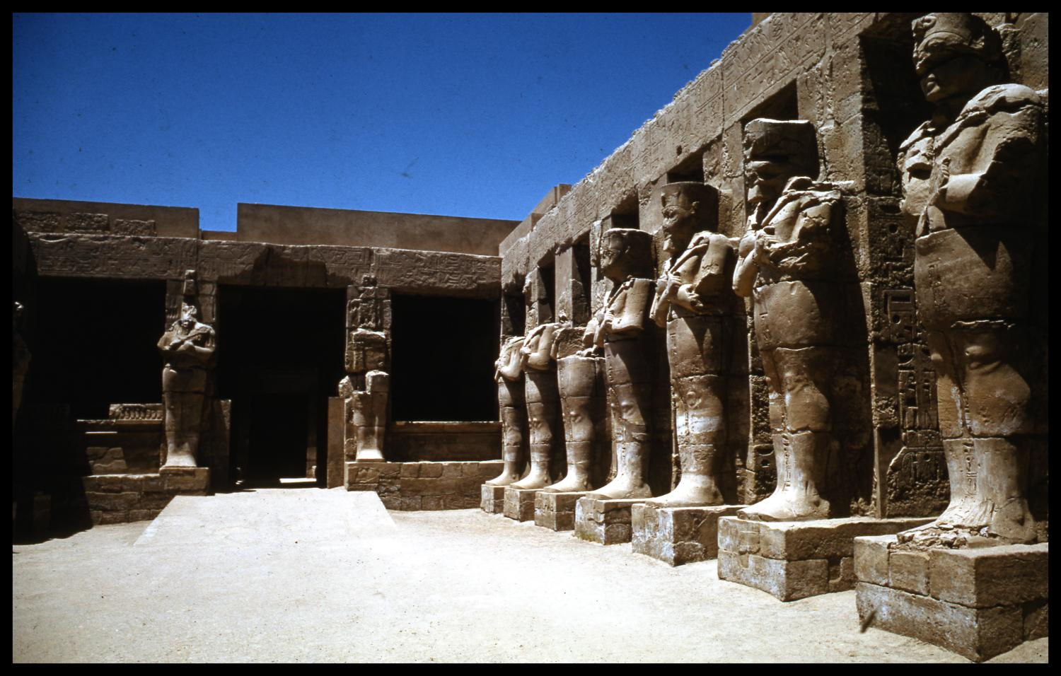 Temple Of Amun Re Digital Library