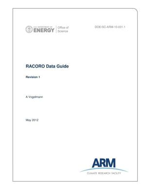 Primary view of object titled 'RACORO Data Guide'.