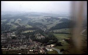 Primary view of object titled '[Aerial View of Arundel]'.