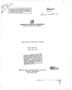 the seperation of uranium essay Uranyl nitrate is important for nuclear reprocessing it is the compound of uranium that results from dissolving the decladded spent nuclear fuel rods or yellowcake in nitric acid, for further separation and preparation of uranium hexafluoride for isotope separation for preparing of enriched uranium.