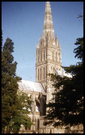 Primary view of object titled '[Cathedral Spire]'.