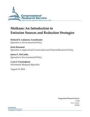 Primary view of object titled 'Methane: An Introduction to Emission Sources and Reduction Strategies'.