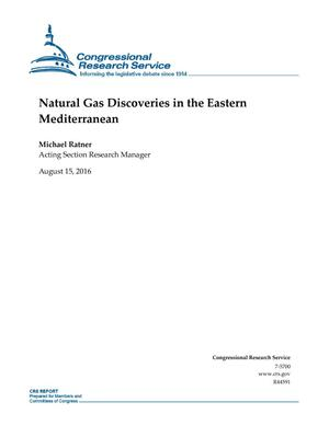 Primary view of object titled 'Natural Gas Discoveries in the Eastern Mediterranean'.