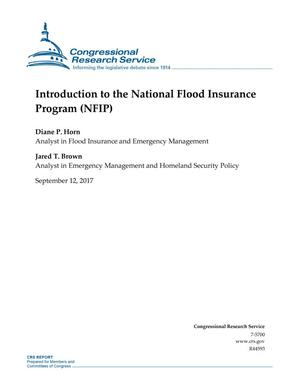 Primary view of object titled 'Introduction to the National Flood Insurance Program (NFIP)'.