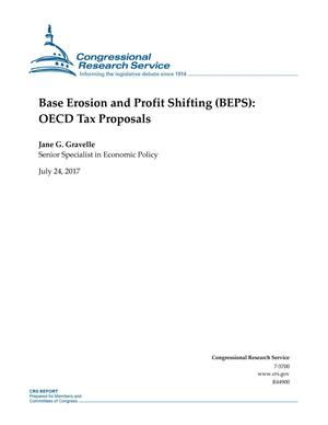 Primary view of object titled 'Base Erosion and Profit Shifting (BEPS): OECD Tax Proposals'.