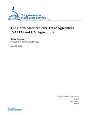 Primary view of object titled 'The North American Free Trade Agreement (NAFTA) and U.S. Agriculture'.
