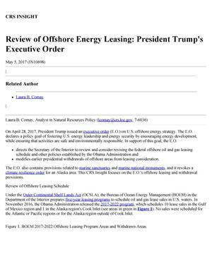 Primary view of object titled 'Review of Offshore Energy Leasing: President Trump's Executive Order'.