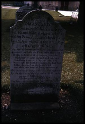 Primary view of object titled '[Tombstone]'.