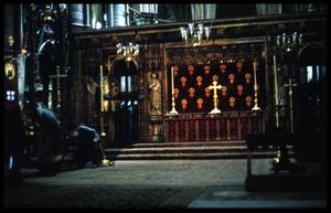 Primary view of object titled '[Westminster Abbey Altar]'.