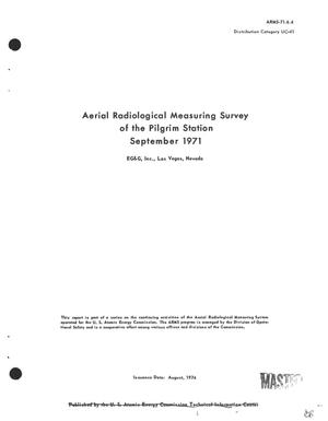 Primary view of object titled 'Aerial radiological measuring survey of the Pilgrim Station, September 1971'.
