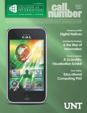 Call Number, Volume 70, Number 2, Fall 2011