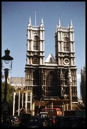 Primary view of object titled '[Westminster Abbey]'.