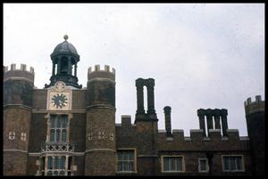Primary view of object titled '[Hampton Court Roofline]'.