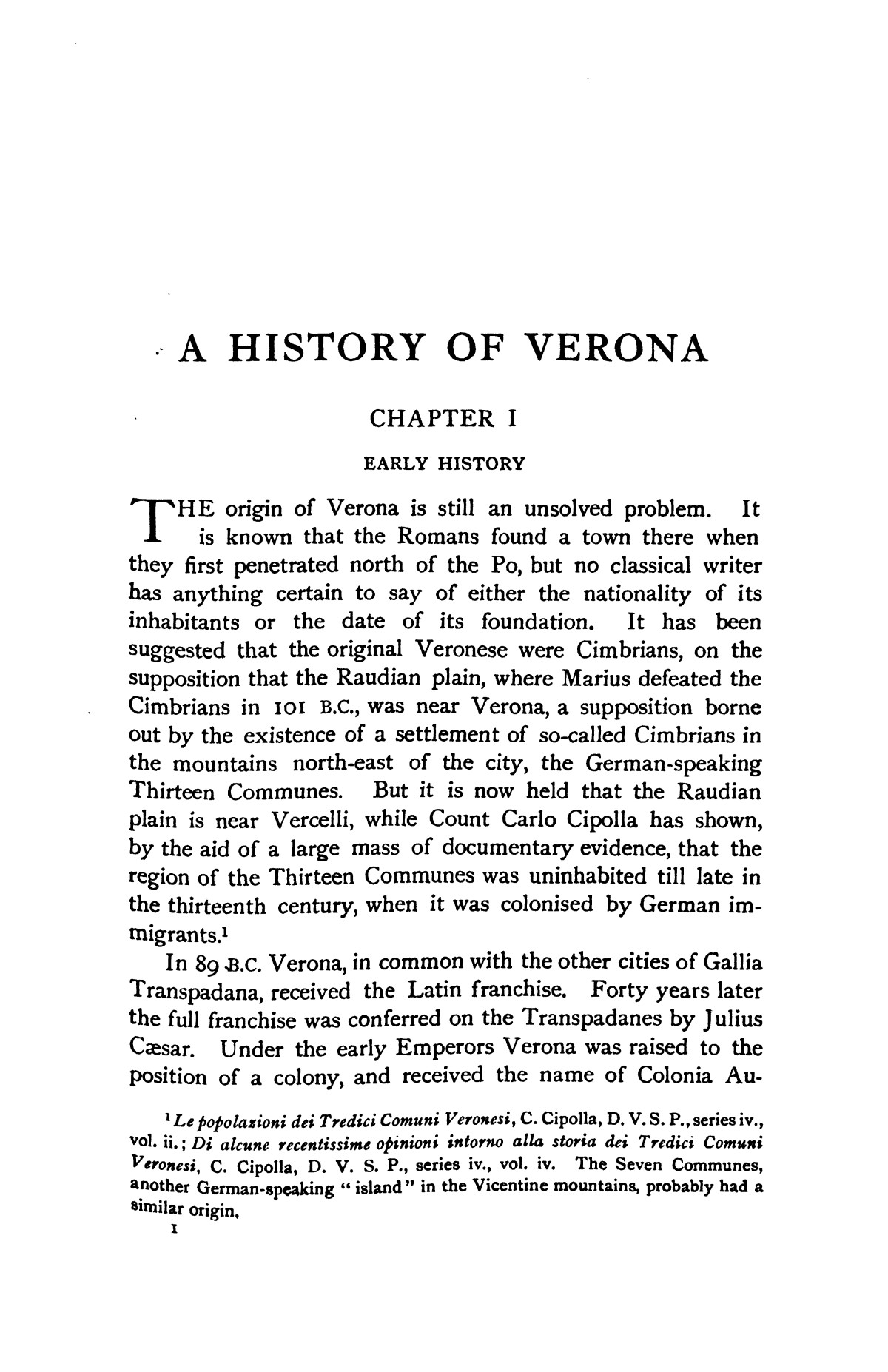 A history of Verona, by A. M. Allen.  Edited by Edward Armstrong, with twenty illustrations and three maps.                                                                                                      [Sequence #]: 16 of 493
