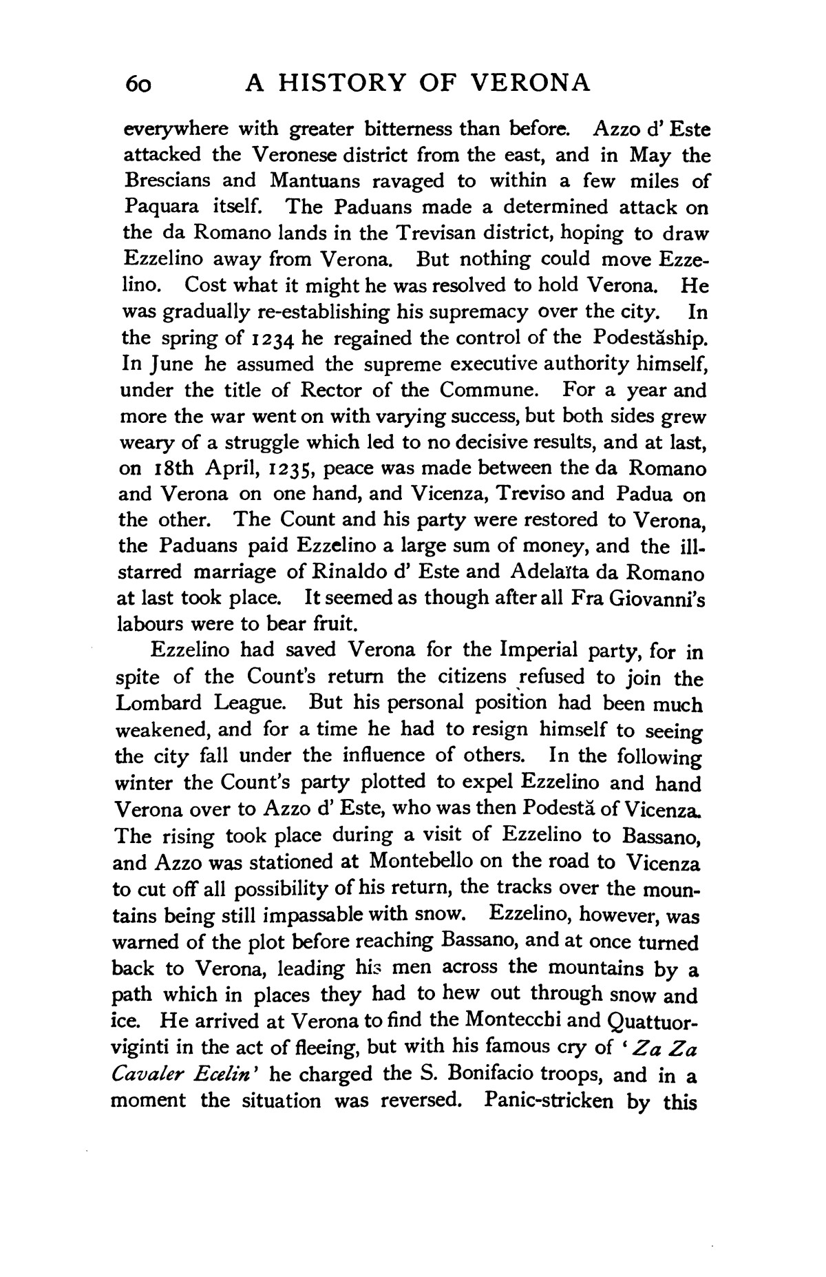 A history of Verona, by A. M. Allen.  Edited by Edward Armstrong, with twenty illustrations and three maps.                                                                                                      [Sequence #]: 78 of 493