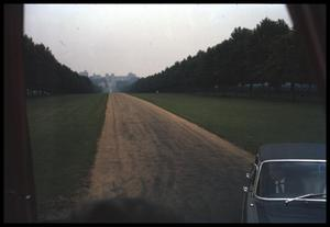 Primary view of object titled '[Distant View of Hampton Court]'.