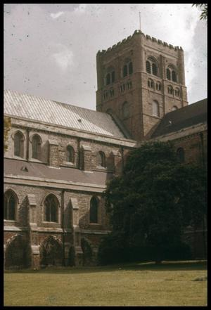 Primary view of object titled '[Saint Albans Abbey]'.