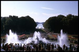 Primary view of object titled '[Versailles Fountains]'.
