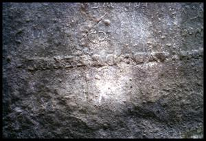 Primary view of object titled '[Stone inscription]'.