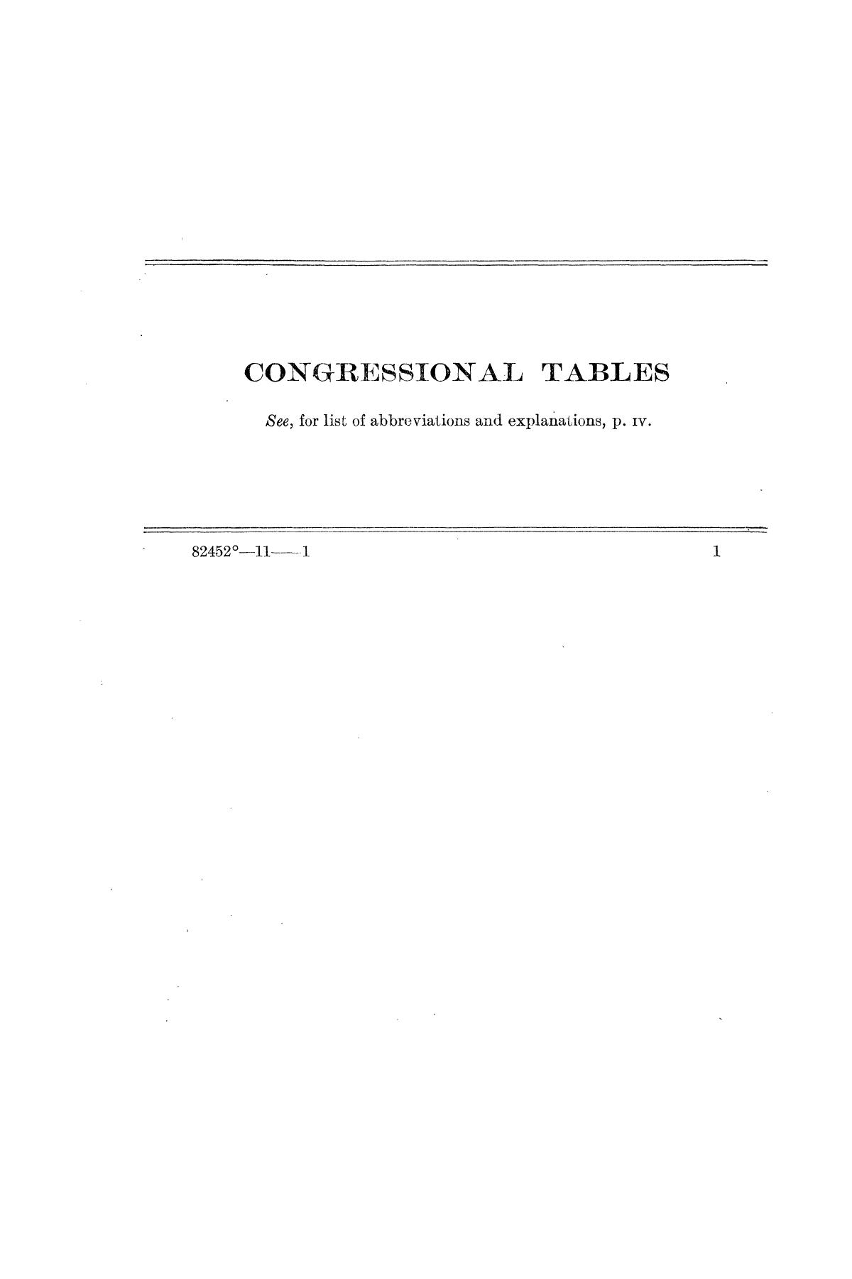 Checklist of United States Public Documents, 1789-1909, Third Edition Revised and Enlarged, Volume 1, Lists of Congressional and Departmental Publications                                                                                                      1