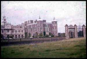 Primary view of object titled '[Hatfield House Exterior]'.
