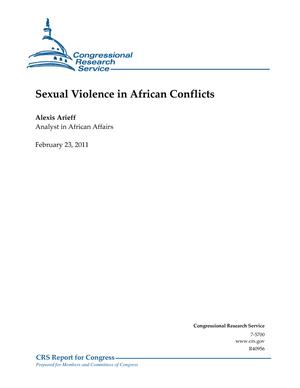 Sexual Violence in African Conflicts