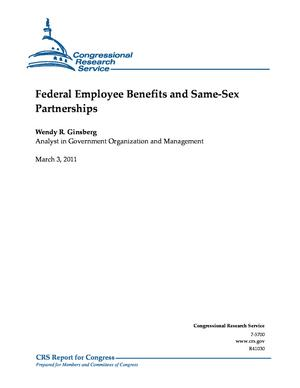 Federal Employee Benefits and Same-Sex Partnerships