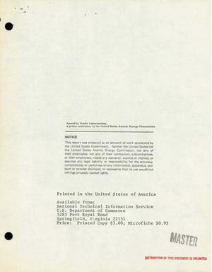 Primary view of object titled 'Development of New Dielectric Systems to Provide a Minimum Volumetric Efficiency of Ten Joules Per Cubic Inch. Quarterly Progress Letter No. 2, May 8, 1968--August 8, 1968.'.