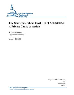 The Servicemembers Civil Relief Act (SCRA): A Private Cause of Action