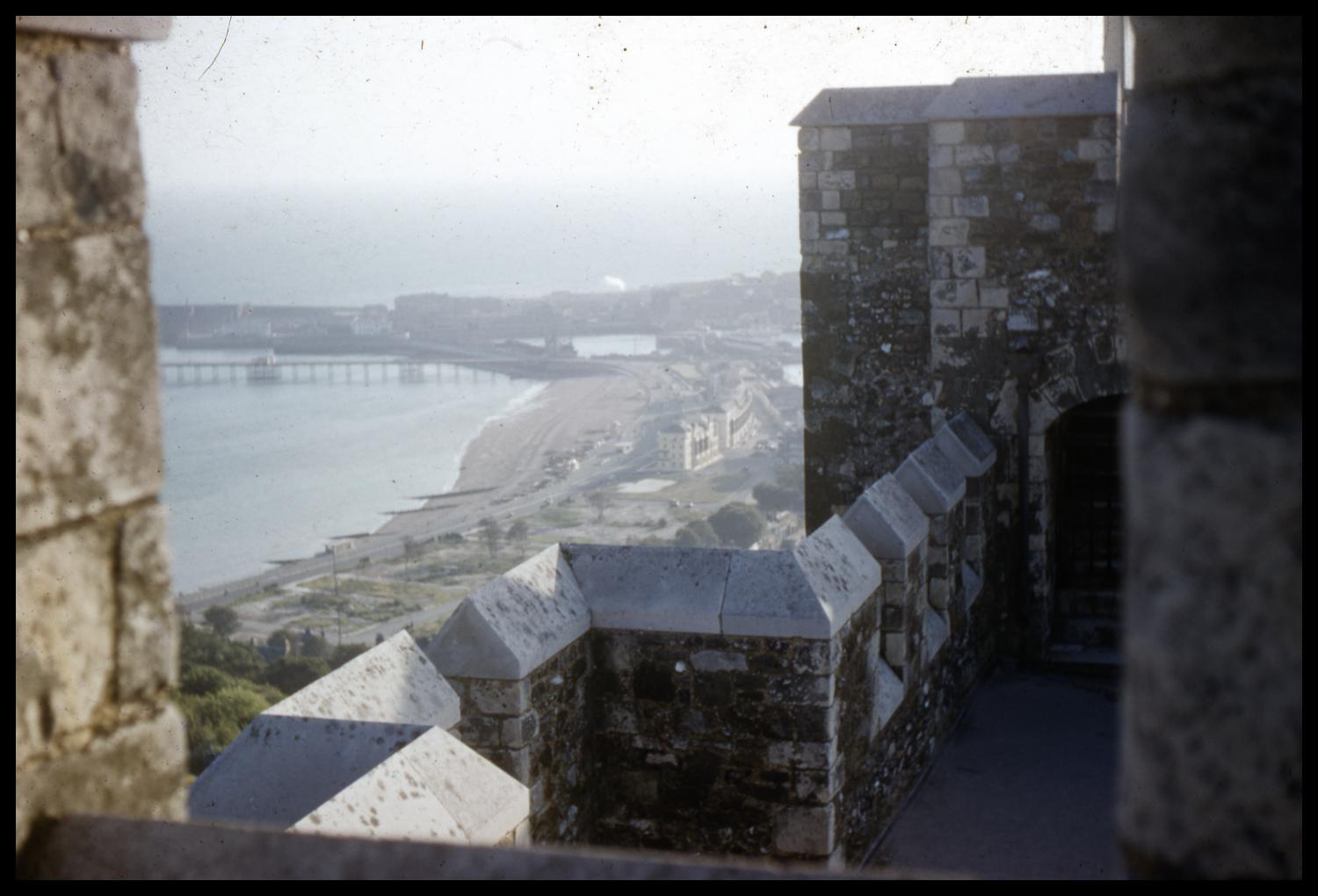 [View from Dover Castle]                                                                                                      [Sequence #]: 1 of 1