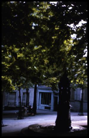 Primary view of object titled '[Place des Abbesses]'.