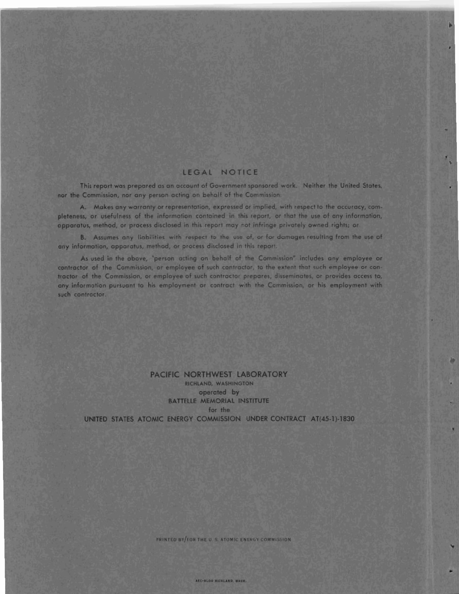 PHYSICS RESEARCH QUARTERLY REPORT, APRIL, MAY, JUNE 1966.                                                                                                      [Sequence #]: 2 of 20